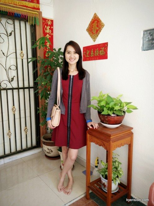 dress from zalora
