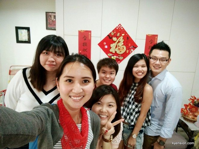 chinese new year wefie