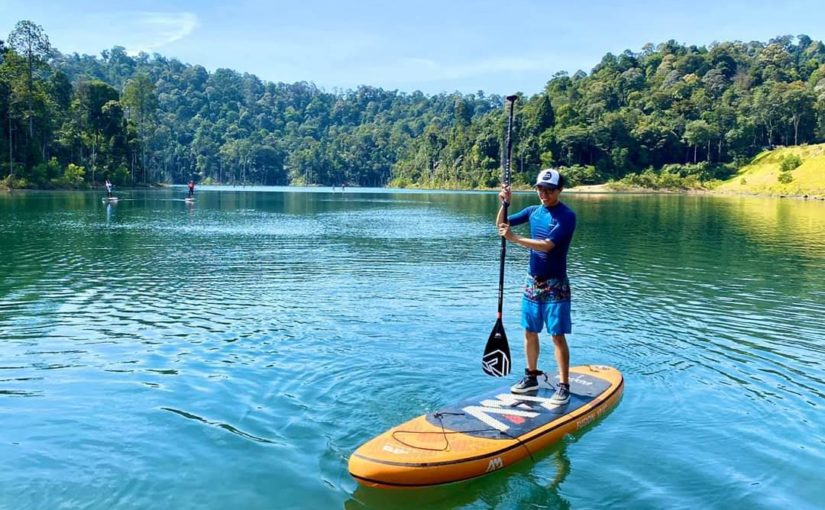 Stand Up Paddling (SUP) in Shah Alam